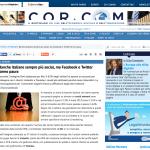 corriere comunicazioni, gennaio 2015