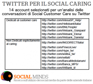 account social customer care